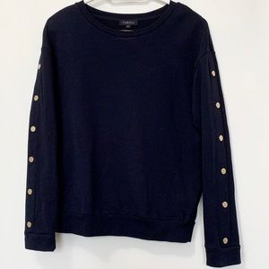 """CAROLL PARIS"" Navy Sweatshirt"